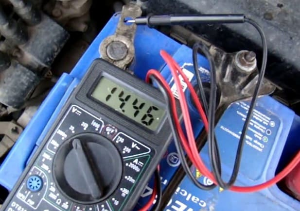 proverka generatora na avto
