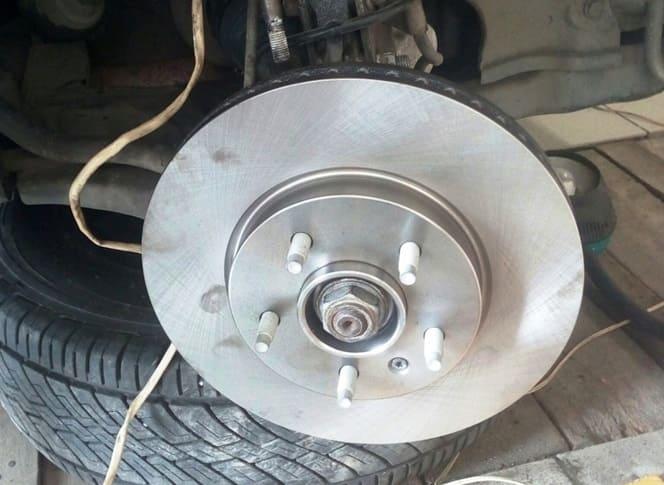 snyatiya tormoznogo diska